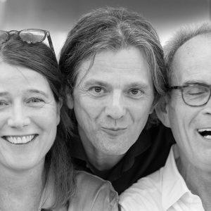 Katja Amberger, Wolfgang Hartmann und Martin Pfisterer  © Joachim Hauser