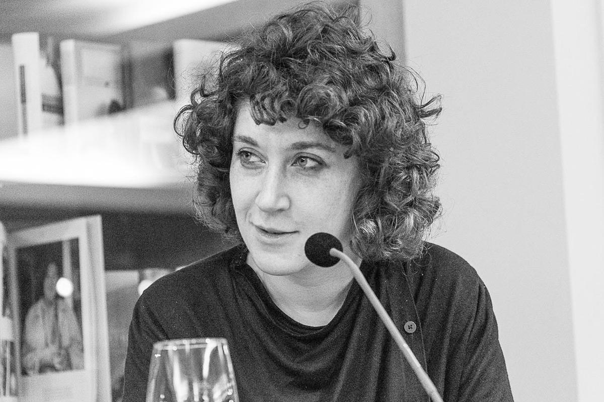 """Lena Gorelik liest aus ihrem Roman """"Null bis unendlich"""". © Joachim Hauser"""