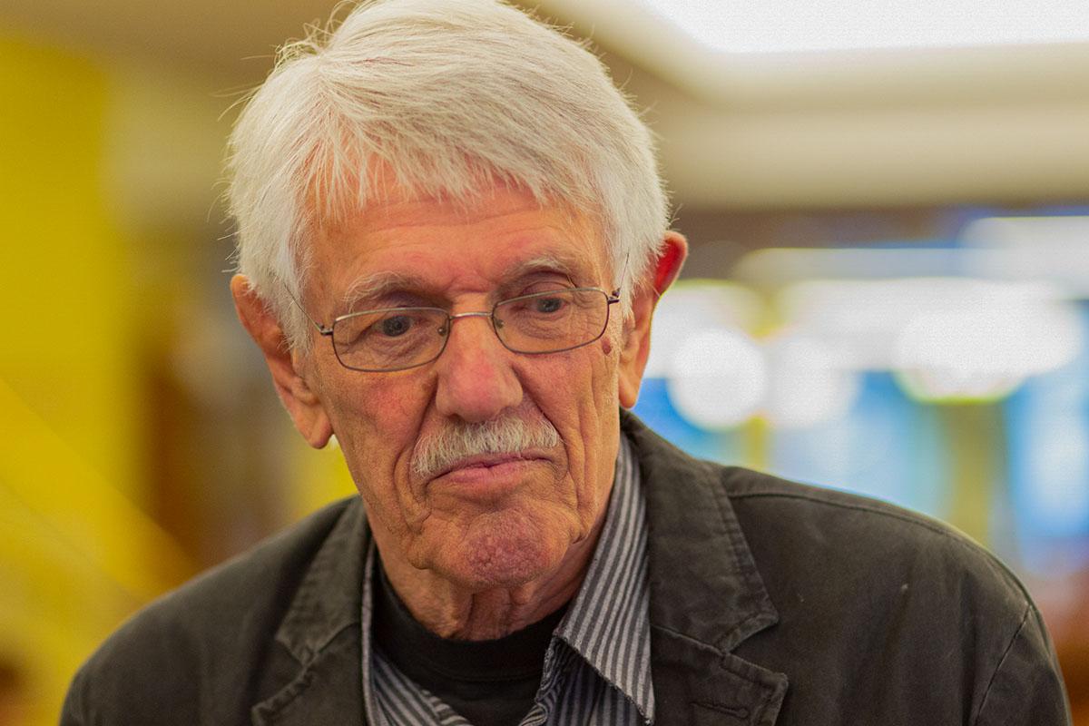 Karlheinz Bedall: großartiger Literaturkenner und langjähriger Moderator für das Literaturhaus. © Joachim Hauser